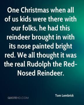 Reindeer Quotes