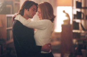 Olivier Martinez and Diane Lane in Unfaithful.
