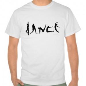 Dance Dancing Silhouette Design Shirt