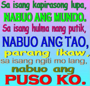 Tagalog Funny Break Up Quotes Sayings Pinoy Picture