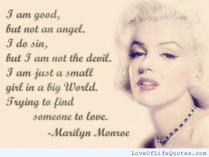 Quotes About Love And Life By Marilyn Monroe Photos Photos