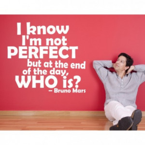 bruno mars wall sticker quote decal quotes 10464 500x500