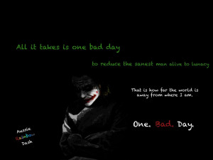 Joker Quotes If You Are Good At Something Wallpaper Joker quotes one ...