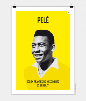 soccer quotes pele see it with your wall color scoring quote 2 soccer ...