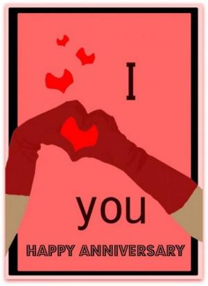 Love You Anniversary Wishes