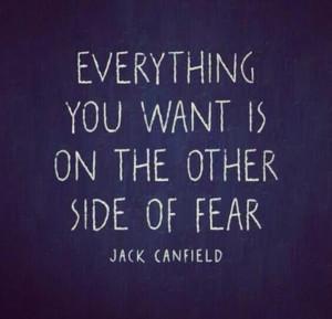 fear mastery of fear not absence of fear mark twain
