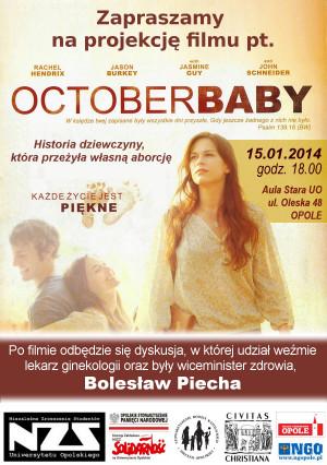 October Baby Film october baby w opolu