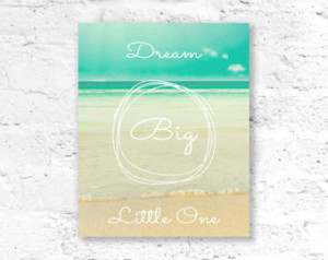 Quote Print, Printable Quote Art, P rintable Beach Wall Art - 5x7 ...