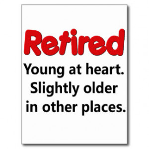 Funny Retirement Saying Postcards