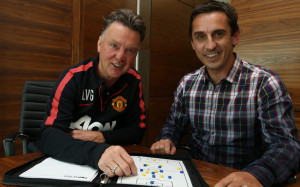 Louis van Gaal and Gary Neville - the best quotes