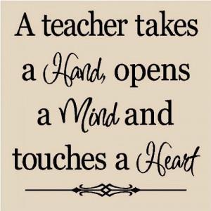 Thinking Of My Favourite Teacher