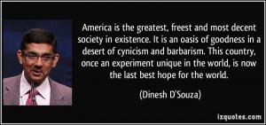 More Dinesh D'Souza Quotes