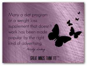 Weight Loss Supplements Quote