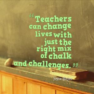 Teacher Quotes Quotesgeek