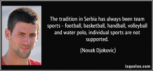 Sports Team Quotes