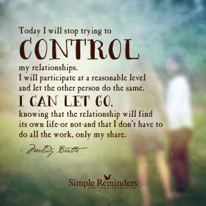 Letting Go Of A Relationship Quotes Letting go of control by