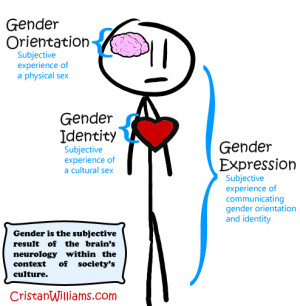 One's gender orientation might be male, while their gender identity ...
