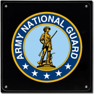 Army National Guard Plaques