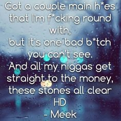 meek mill quotes about girls Meek Mill Quotes From