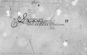 From Code Geass Quote...