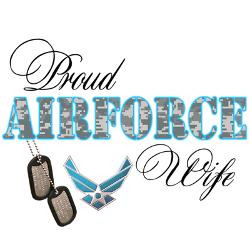proud_air_force_wife_greeting_card.jpg?height=250&width=250 ...
