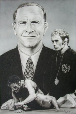 Dan Gable. A GREAT COACH AND PERSON who taught our young men of Iowa ...
