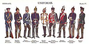 imperial german army uniforms