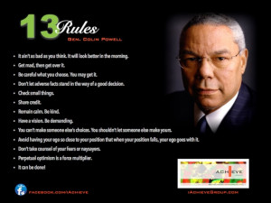 Colin Powell Leadership...
