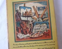 vintage Book, The Arts, Hendrik Wil lem Van Loon, vintage Art, Vintage ...