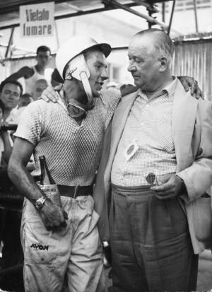 Stirling Mos | Tony Vandervell (Italy 1957)