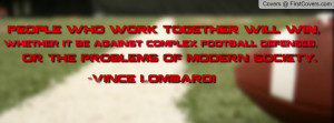 American Football Quote Profile Facebook Covers