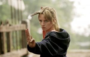 Uma Thurman (The Bride/Beatrix Kiddo) in Kill Bill Vol. 2