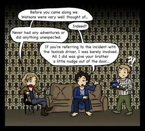 Sherlock: Hobbit of a Lifetime by blackbirdrose