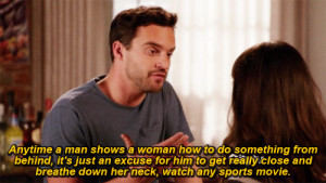 New Girl | Nick Miller New Girls Nick Miller, Girls 3, Quotes Gif