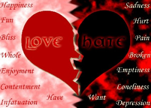 love - love-vs-hate Photo