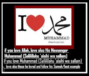 The blessed Prophet's (Peace be upon him) love for mankind is clear ...