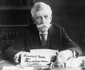 Photograph of Supreme Court Justice Oliver Wendell Holmes. Courtesy of ...