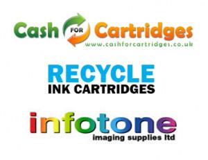 recycle old printer cartridges