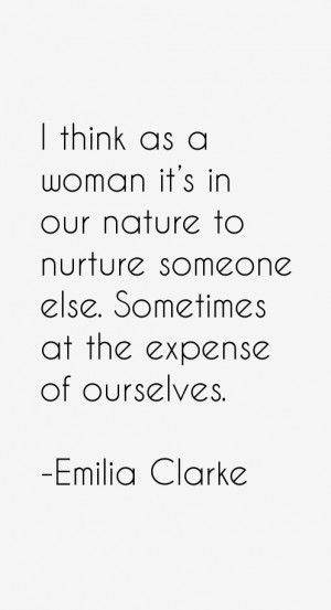 Emilia Clarke Quotes amp Sayings