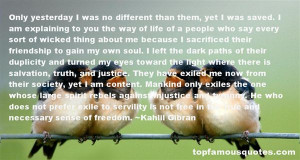 Top Quotes About Sacrifice And Freedom