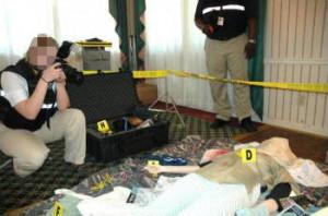 Piece Evidence Crime Scene