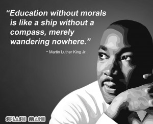 Martin Luther King Jr. on Education, Motivation and Life