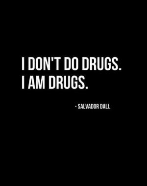black, black and white, drug, drugs, quote, text, white