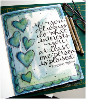 you are a miracle art journal inspiration
