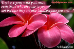 Kindness ,Politeness Quotes – Inspirational Quotes, Pictures and ...