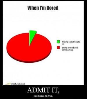 When I'm Bored