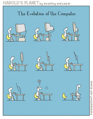 Evolution Of Computer | Funny Pictures, Quotes, Jokes And Inspiring ...