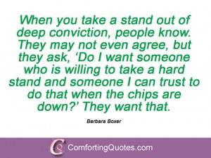 19 Sayings From Barbara Boxer