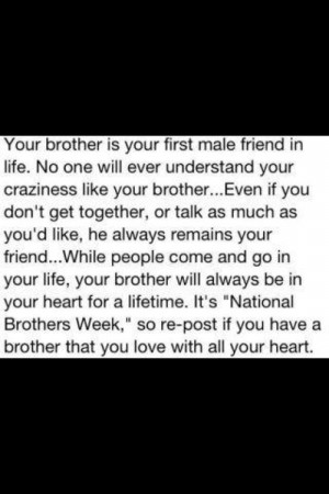 Love My Little Brothers Quotes I love my little brother so
