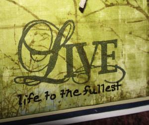 Live Life To The Fullest | Devdas Angers